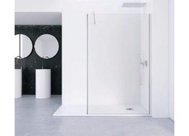 Mampara ducha cristal 90cm FADO 1 fijo