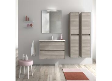 Conjunto mueble cajones SANSA+ Lavabo SLIM, espejo y aplique