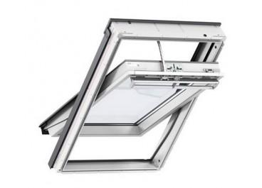 Ventana giratoria INTEGRA eléctrica blanca vidrio 60