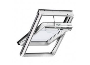 Ventana giratoria INTEGRA Apertura Solar blanco lacado