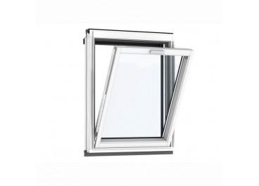 Ventana vertical para combinación blanco lacado apertura superior