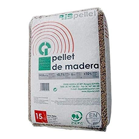 Pallet de 77 sacos de Briqueta LEÑA 15 kg (Nuevo)