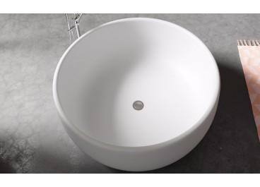 Bañera Nicosia 135 cm Ø Solid Surface