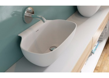 Lavabo Tonga 38x50 cm Solid Surface