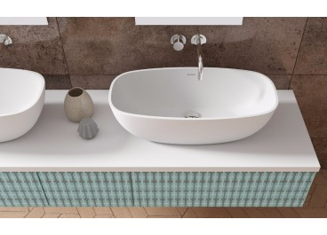 Lavabo Tupai 35x50 cm Solid Surface