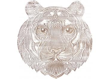 Cuadro tallado Tigre 60x57
