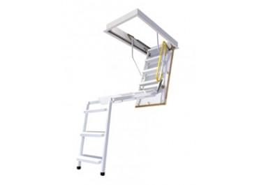 Escalera escamoteable de 3 tramos metálica EM-3 ISO