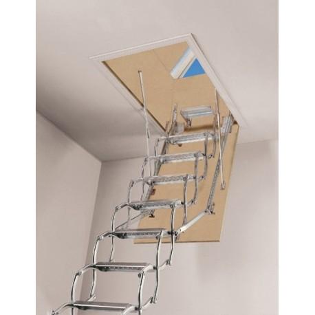 Escalera escamoteable de tijera ZX-terraza