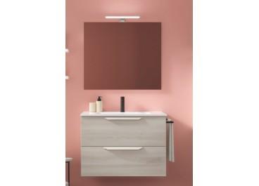 Conjunto mueble URBAN + Lavabo + Espejo + luminaria led 30 Led