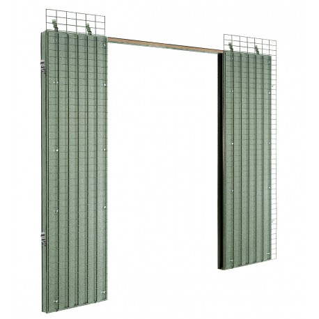 Estructura puertas correderas dobles PLUS