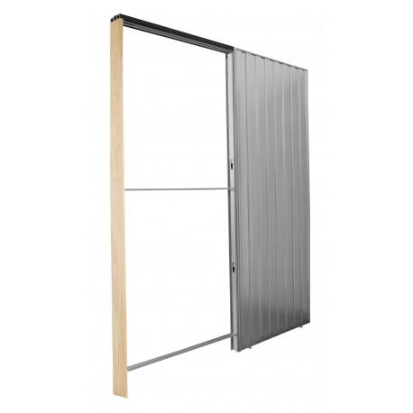 Estructura puertas correderas simples