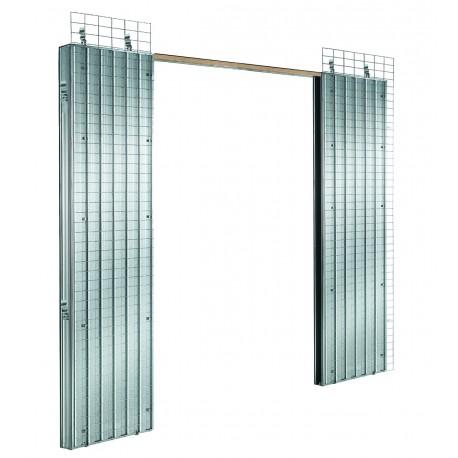 Estructura puertas correderas dobles BASIC