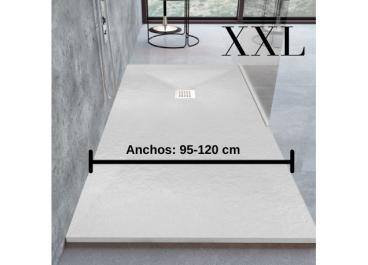 Plato de ducha de resina extraplano XXL