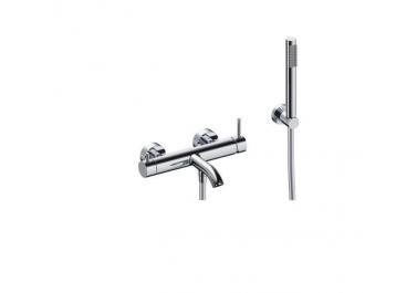 Monomando exterior para baño ducha serie LOOP