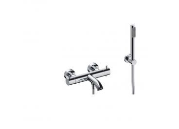 Termostático exterior para baño ducha serie LOOP