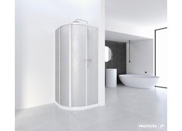 Mampara de ducha SERIE CUMUS angular curva CU y CUM