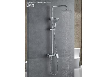 Conjunto de ducha monomando DIVIRA touch
