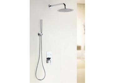 Distribuidor monomando empotrable MÁLAGA 02 + Conjunto de ducha