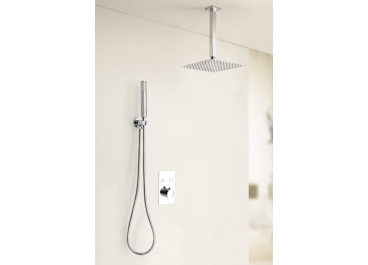 Distribuidor termostático empotrable SEVILLA 02 + Conjunto de ducha