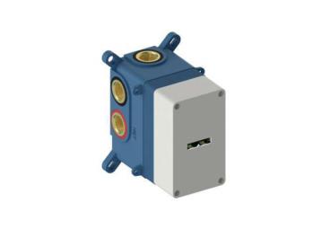 Sanybox termostático de ducha mural 2-3 vías serie LOOP